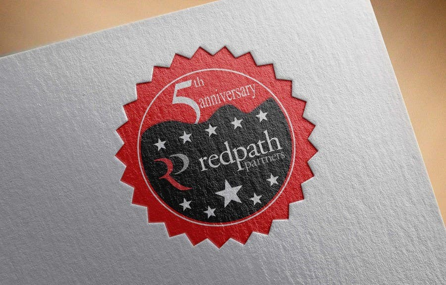 Konkurrenceindlæg #33 for Design a Logo for Redpath Partners' 5 Year Anniversary