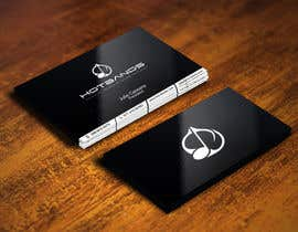 #100 for Design some Business Cards for Hot Bands by gohardecent