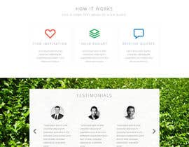 #47 untuk Design a Website home / landing page oleh andreybalbekov