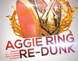 #9 for Design a Flyer for Aggie Ring Re-Dunk af MouadEl3