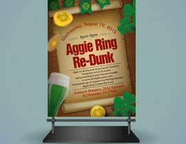 #8 for Design a Flyer for Aggie Ring Re-Dunk by jawadbhatty