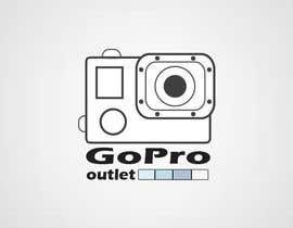 #36 untuk Design a Logo for GoPro-Outlet.com oleh kecskenyaj