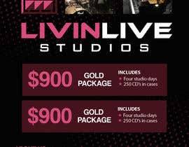 #15 for Design a Flyer for LivinLiveStudios by sunsum