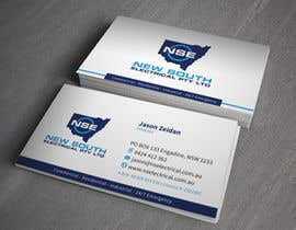 #21 for Design some Business Cards for NSE af toyz86