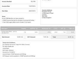 #10 cho Design an invoice bởi dondiaz