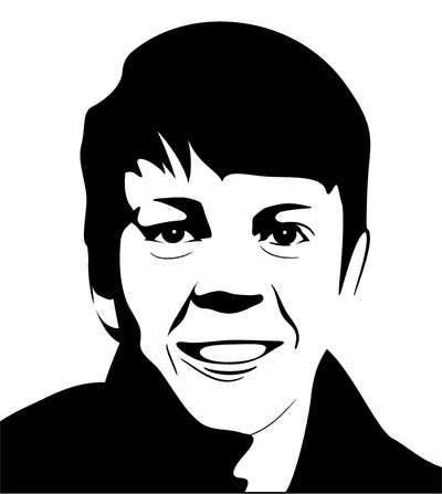Bài tham dự cuộc thi #6 cho Create a 2D Caricature/Cartoon of 2 Faces
