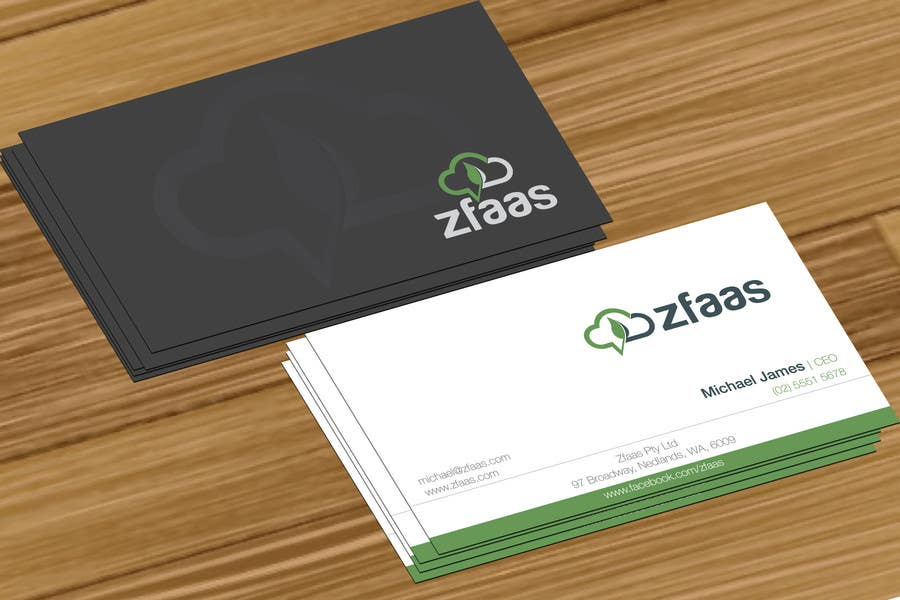 Inscrição nº 11 do Concurso para Design some Business Cards, stationery and a Powerpoint slide template for zfaas Pty Ltd