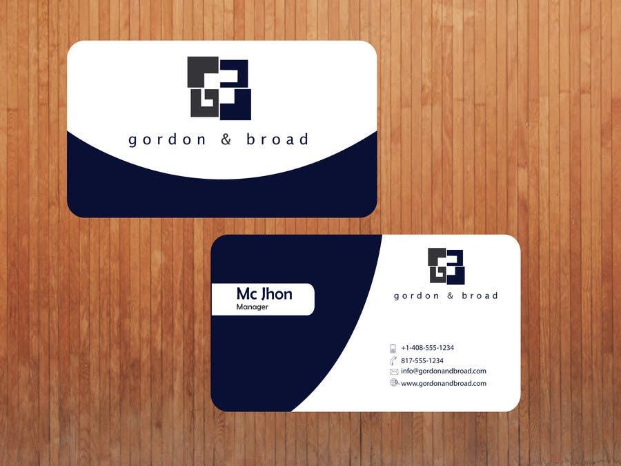 Inscrição nº                                         1                                      do Concurso para                                         Design a Business Cards