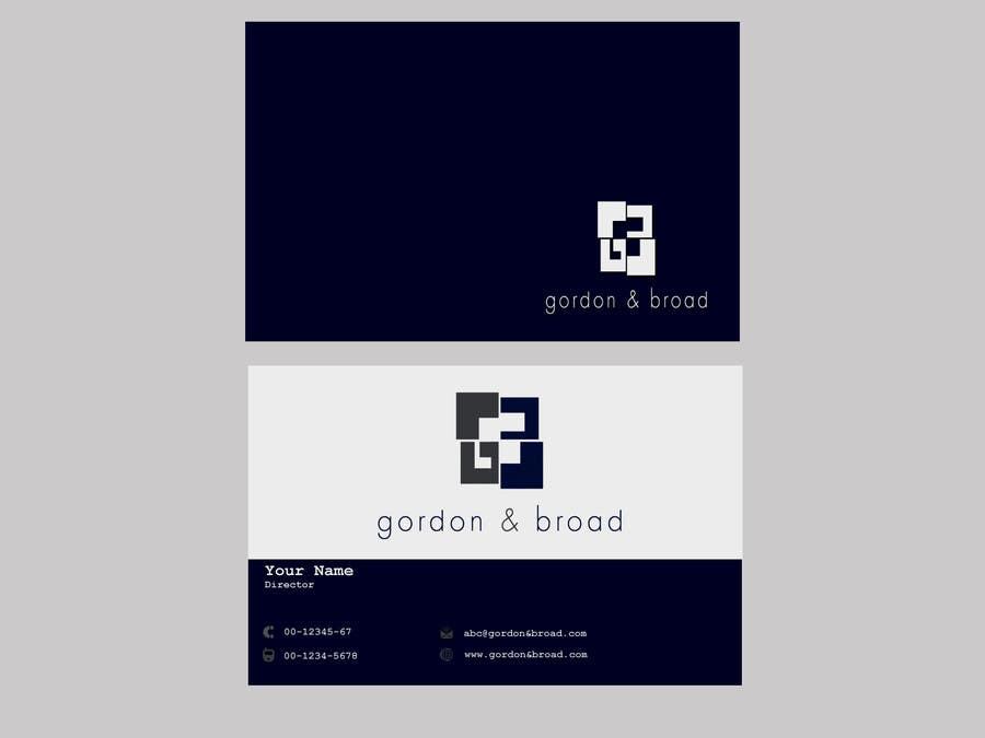 Inscrição nº                                         23                                      do Concurso para                                         Design a Business Cards