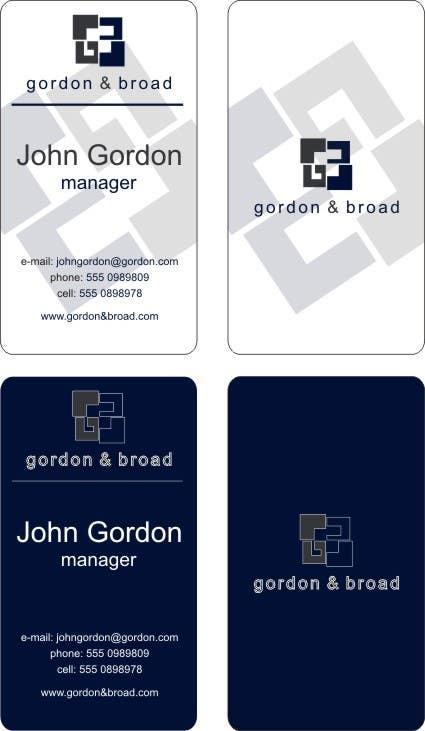 Inscrição nº                                         4                                      do Concurso para                                         Design a Business Cards