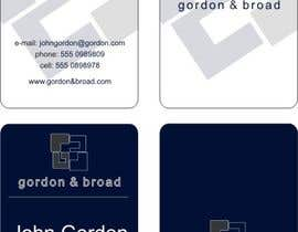 nº 4 pour Design a Business Cards par oopsdesign