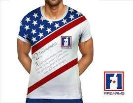 #26 untuk Firearms T-Shirt oleh YONWORKS