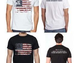 #35 for Firearms T-Shirt af VikiFil