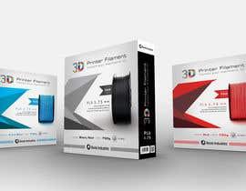 #39 untuk Create Print and Packaging Designs for 3D Filament oleh madlabcreative