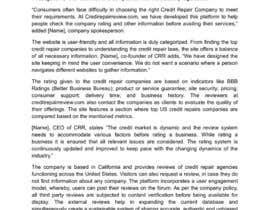 ChatterjeeA tarafından Content Writing for Press Release için no 8