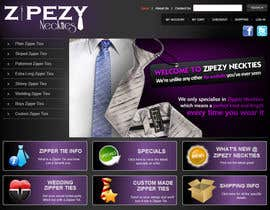 #47 for DESIGN 4 X JQUERY BANNERS FOR DISPLAY ON ZIPEZY NECKTIES' WEBSITE by creationz2011