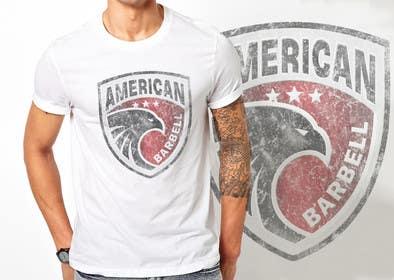 ezaz09 tarafından Design a T-Shirt for AmericanBarbell.com için no 23