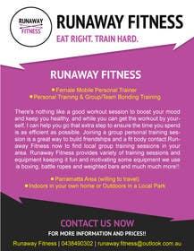 #2 cho Design a Flyer for Runaway Fitness bởi itvisionservices
