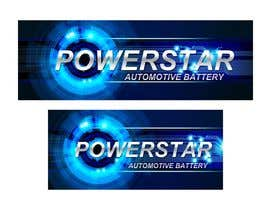 #17 untuk Design a Banner for automotiva battery label oleh designciumas