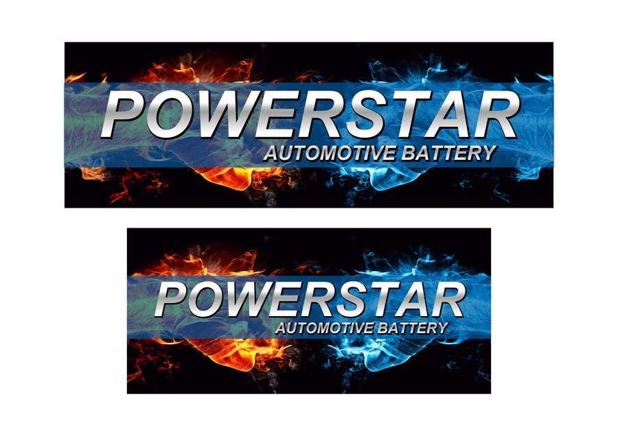 Penyertaan Peraduan #18 untuk Design a Banner for automotiva battery label