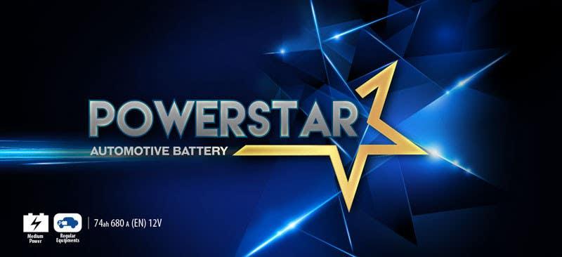 Penyertaan Peraduan #9 untuk Design a Banner for automotiva battery label