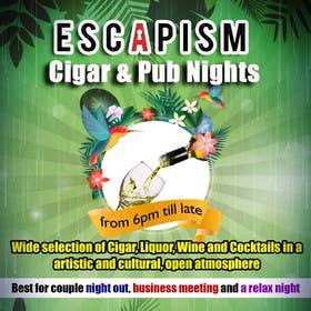 #33 untuk Design an Advertisement for a Cigar Lounge and Pub oleh msdvenkat