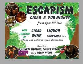 #3 for Design an Advertisement for a Cigar Lounge and Pub af Shrey0017