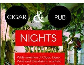 #38 for Design an Advertisement for a Cigar Lounge and Pub af raidipesh40