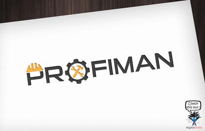 #71 untuk Design a logo for PROFIMAN business services oleh BDamian