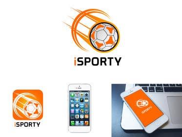 AhmedAdel3 tarafından Design a Logo for iSporty app için no 37