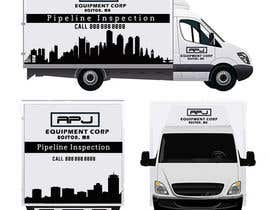 kimkhoy tarafından Vehicle Layout & Advertisement + New Company Logo için no 113