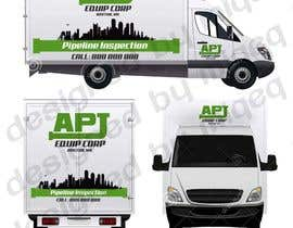 #104 for Vehicle Layout & Advertisement + New Company Logo af miqeq