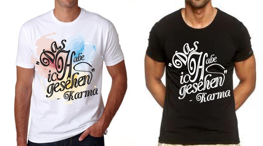 Inscrição nº 11 do Concurso para Vector Design for T-Shirts | a fancy quote