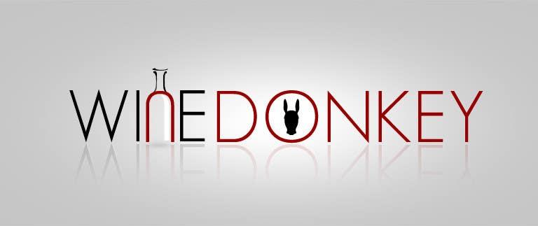 Penyertaan Peraduan #196 untuk Logo Design for Wine Donkey
