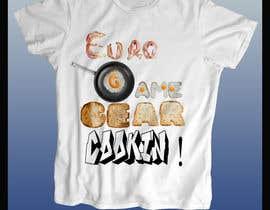 #4 untuk Design a T-Shirt for Cookin! oleh DigitalEditors