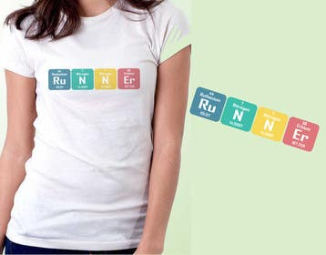 #2 cho Design a T-Shirt for Science student who love running bởi ezaz09