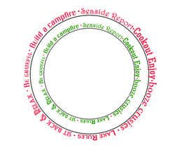 #2 for Design a circle using words of various fonts by anuragbhelsewale