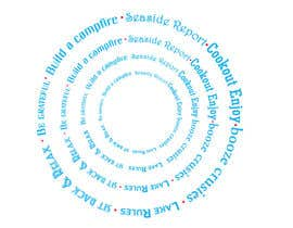 #3 for Design a circle using words of various fonts by anuragbhelsewale