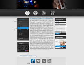 #36 para Website Design for Bad Boy Defenders de herick05