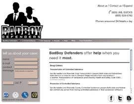 #27 untuk Website Design for Bad Boy Defenders oleh twistedpix