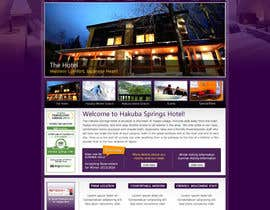 nº 20 pour Hotel website design template par anjaliarun09