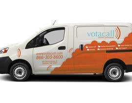 #4 for Design a vehicle wrap with graphics for our Votacall service vans! af yukaa