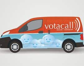#3 for Design a vehicle wrap with graphics for our Votacall service vans! af micavaalnier