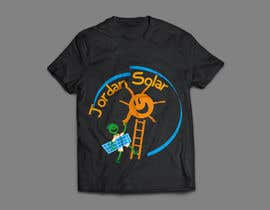 novootoka tarafından Design a T-Shirt for Solar Company için no 98
