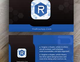 #46 untuk Design some Business Cards for App oleh fbpromoter2