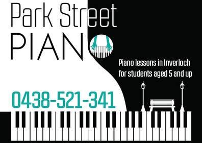 #161 untuk Design a Logo for a Piano Teacher oleh fisekovic