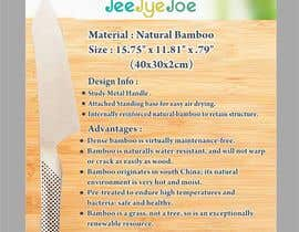 #11 for Design a Flyer for JEEJYEJOE Cutting Board with Stand af Shrey0017