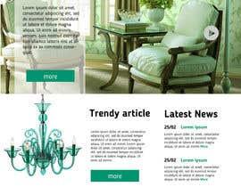 #13 untuk Design a Website for Creating Perfection oleh SovaDesign