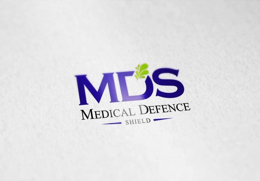 Inscrição nº                                         121                                      do Concurso para                                         Design a new Flat Logo for Medical Defence organisation