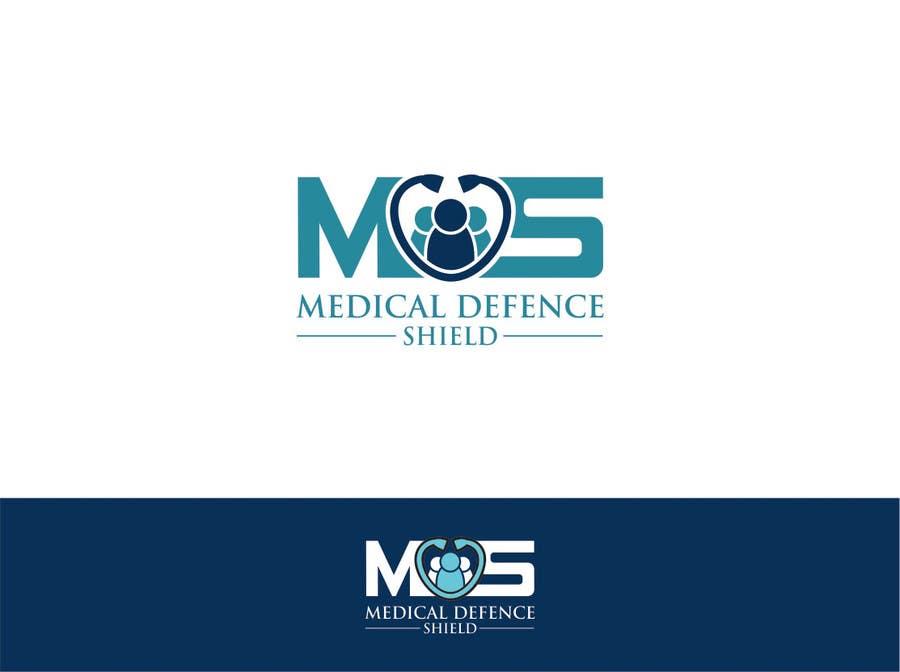 Inscrição nº                                         114                                      do Concurso para                                         Design a new Flat Logo for Medical Defence organisation